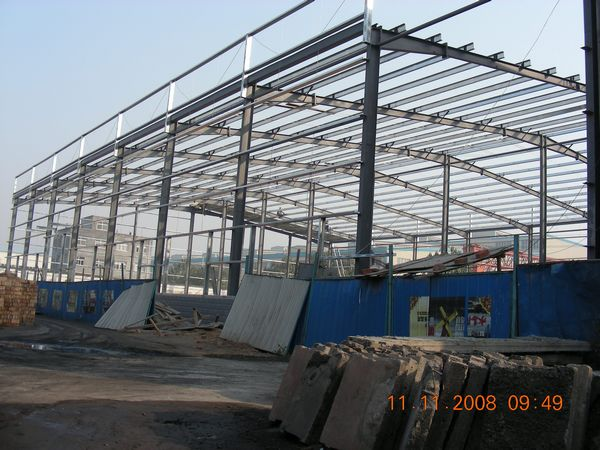 In August 2008, new working shop and office was in building.